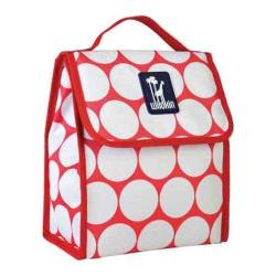 Wildkin Big Dot Red & White Munch 'n Lunch Bag