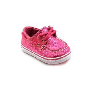 c6cd9ee3 Sperry Top Sider Infant Girl 'Bahama Crib' Fabric Casual Shoes ...