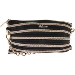 Women's BAM BAGS Isabella Black/Silver