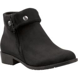 Women's Propet Sidney Black Velour