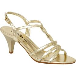 Women's Lava Shoes Faith Gold Metallic