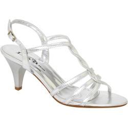 Women's Lava Shoes Faith Silver Metallic