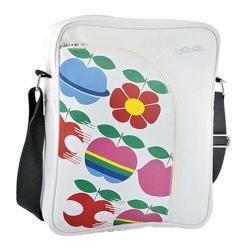 Women's Vespa Big Pocket Shoulder Bag White