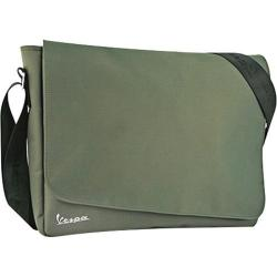Vespa Nylon Messenger Bag Green