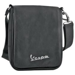 Vespa Small Sling Bag Imitation Leather Black