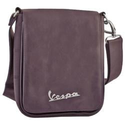 Vespa Small Sling Bag Imitation Leather Brown