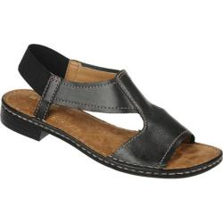 Women's Naturalizer Ringo Black Mirage Leather