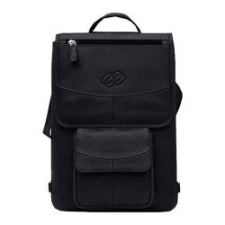MacCase 11in Premium Leather Macbook Air Flight Jacket Black