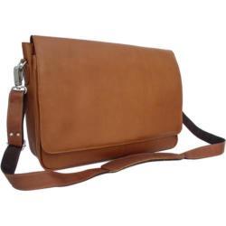 Men's Piel Leather Professional Laptop Messenger 2360 Saddle Leather