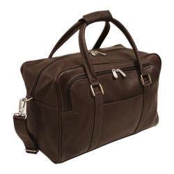 Piel Leather Mini Carry-On 2829 Chocolate Leather