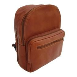 Piel Leather Traditional Backpack 7063 Saddle Leather