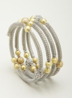 Allure Metal Chain Wrap Bracelet
