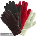 Isotoner Women's Chenille Stretch Gloves (One Size)