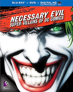 Necessary Evil: Villains of DC Comics (Blu-ray/DVD) 11510685