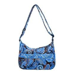 Women's Stephanie Dawn Shoulder Bag 10003 Mocha Paisley
