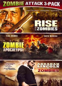 Abraham Lincoln Vs. Zombies/Zombie Apocalypse/Rise Of The Zombies (DVD) 11534654