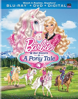 Barbie & Her Sisters In A Pony Tale (Blu-ray/DVD) 11551459