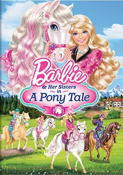 Barbie & Her Sisters In A Pony Tale (DVD) 11551460