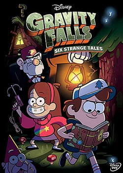 Gravity Falls: Six Strange Tales (DVD) 11552366