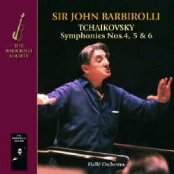 HALLE ORCHESTRA SIR JOHN BARBIROLLI - TCHAIKOVSKY: SYMPHONIES 4 5 & 6 11557468