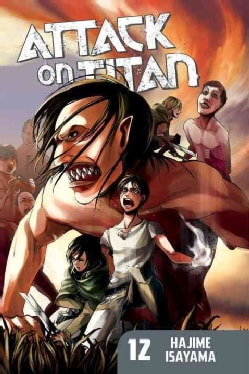 Attack on Titan 12 (Paperback) 11566208