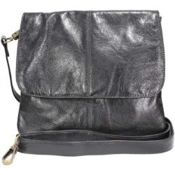 Women's Latico Jamie Cross Body/Shoulder Bag 7991 Black Leather