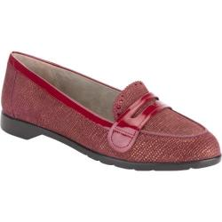Women's Rockport Jia Lite Penny Loafer Cordovan Leather