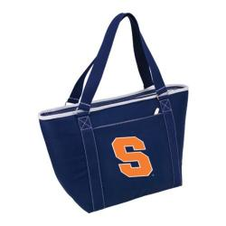 Picnic Time Topanga Syracuse Orange Print Navy