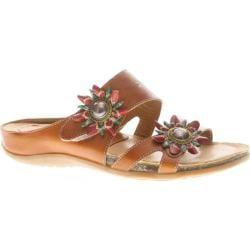Women's Spring Step Melange Camel Leather