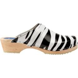 Women's Cape Clogs Zebra Black/White
