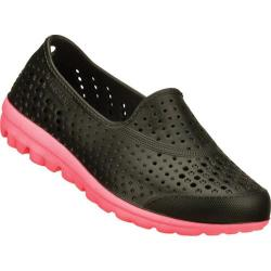 Girls' Skechers H2GO Waterlillys Black/Hot Pink
