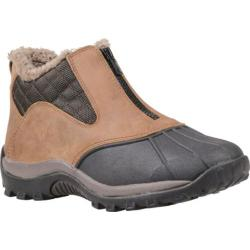 Women's Propet Blizzard Ankle Zip Dark Brown