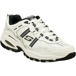 Men's Skechers Vigor 2.0 Serpentine White/Navy