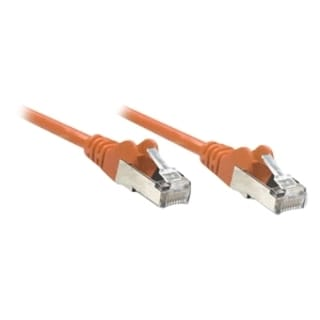Intellinet Patch Cable, Cat6, UTP, 3', Orange