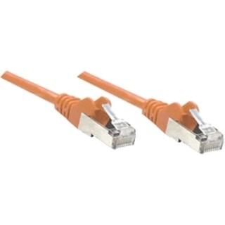 Intellinet Patch Cable, Cat6, UTP, 7', Orange