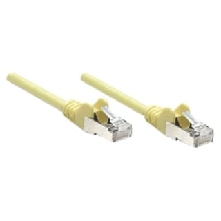 Intellinet Patch Cable, Cat6, UTP, 5', Yellow