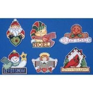 Signs Of Christmas Ornaments Counted Cross Stitch Kit - 3-1/2 X4  14 Count 11713104