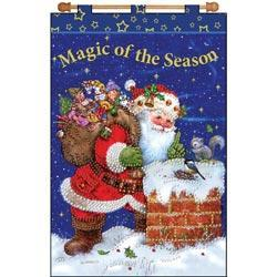 Magic Of The Season Jeweled Banner Kit - 16 X24