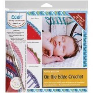 EdgIt Piercing Crochet Hook & Book Set -