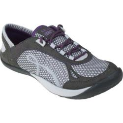 Women's Kalso Earth Shoe Prosper Dark Grey Microfiber