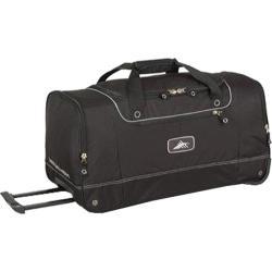 High Sierra 28in Wheeled Cargo Bag Black