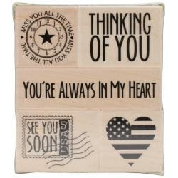 Hero Arts Mounted Rubber Stamps - You're Always In My Heart