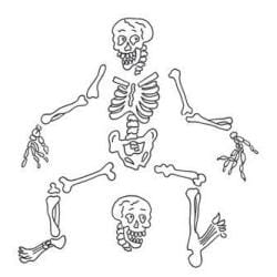 Dyan Reaveley's Dylusions Cling Stamp Collection - Boney Maloney