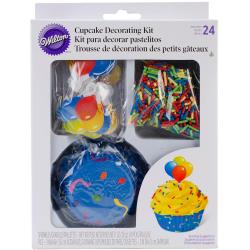 Cupcake Decorating Kit Makes 24 - Celebrate
