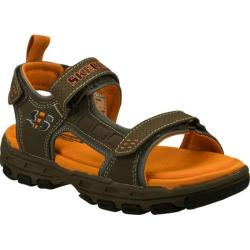 Boys' Skechers Gander Brown/Orange