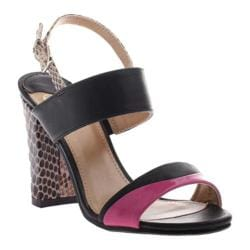 Women's Madeline Blown Away Fushia/Black