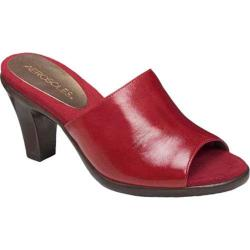 Women's Aerosoles Brilliance Dark Red Leather