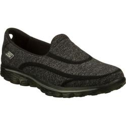 Women's Skechers GOwalk 2 Super Sock Black