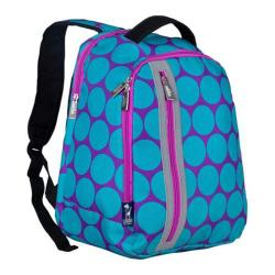 Girls' Wildkin Echo Backpack Big Dot Aqua