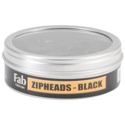 Zip Heads 35/Tin - Black